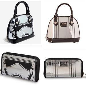 Loungefly Star Wars Captain Phasma Bag & Wallet